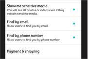 Twitter: 'Payment & Shipping' option has appeared in a number of users' settings