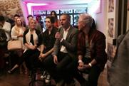 Boohoo.com's Richard Clark addresses the crowd at the Vlog Star launch event