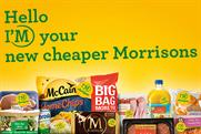 Morrisons: latest campaign promotes supermarket as a lower-priced retailer