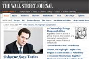 WSJ: redesigns website