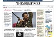 The Times website: subscription growth