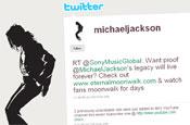 Twitter: Michael Jackson account has 30,000 followers