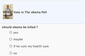 Facebook: Obama poll investigated by the Secret Service
