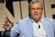 Martin Sorrell: chief executive of  WPP