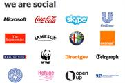 We Are Social: clients include Skype and Microsoft