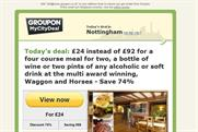 Groupon: ASA bans restaurant ad