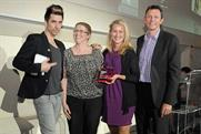 Russell Kane: presents winners with an award at the Thinkbox Planning Awards