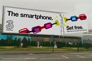 Three: outdoor smartphone campaign