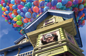 Up: Cimeworld promotes pixar movie