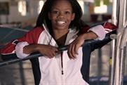 Gabrielle Douglas: takes silver for P&G
