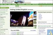 TripAdvisor: now linked to VisitBritain website