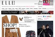 ElleUK website: Shop channel