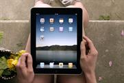 An Apple iPad
