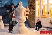ESPN: one of the creative executions for the broadcaster's upcoming FA Cup ad campaign