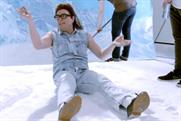 Alan Carr: mimics Jean-Claude Van Damme in spoof Coors ad on C4's Comedy Gala