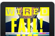 Wired: magazine's iPad app goes monthly