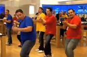 Microsoft: employees perform dance routine
