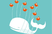 Twitter fail whale: Twitter filled with pointless babble