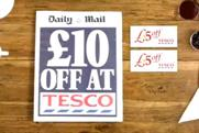 Daily Mail: Tesco coupons offer ad is banned