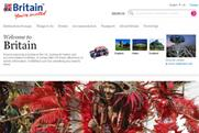 VisitBritain: online activity