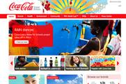 Coca-Cola UK: new website