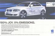 BMW ad: banned by the ASA