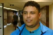 Ronaldo: appears on Brazilian show Medida Certa before losing two and a half stone