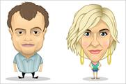 Coronation Street: famous faces get turned into cartoons for Facebook game
