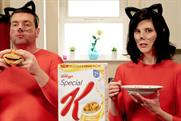 Kellogg's targets 'copycats' with sausage butty-eating Aldi actor