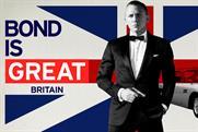 VisitBritain: Bond-themed cinema ad running in global markets