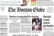 The Boston Globe: staff members prepare to vote