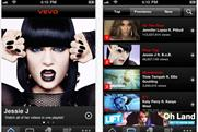 Vevo app: nearly a million downloads across a variety of devices