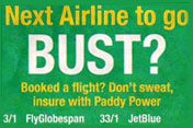 Paddy Power: ad banned by ASA