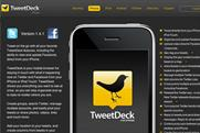 Tweetdeck: reportedly about to be acquired by UberMedia