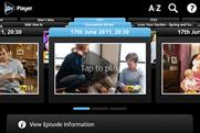 ITV Player: drops to second place in this week's BR app chart