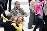 Flash mobbing for mobile: T-Mobile ups the ante