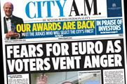 City AM: Lexus to sponsor newspaper's annual awards for two years