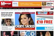 Mirror Group: website recorded a 24% rise in unique browsers