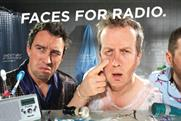Absolute Radio: 'faces for radio' campaign by Albion London