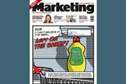 Engine Group does 'pop art' cover for this week's Marketing
