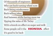 Honda: Wieden & Kennedy campaign
