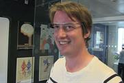 Senior reporter Matthew Chapman wearing Google Glass