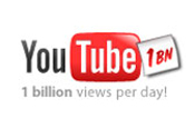 YouTube: celebrates 1bn video streams