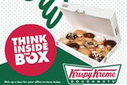 Krispy Kreme: runs first above-the-line work