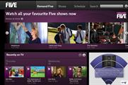 Demand Five: added to Virgin Media's catch-up service