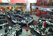Social media: plays central role in the BBC News hub