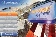 Barclaycard Rollercoaster game