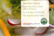 Tesco: ASA bans lettuce freshness ad for making misleading claims
