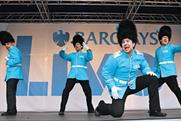 Barclays: runs talent competition