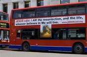 Jesus Said: London bus ad campaign